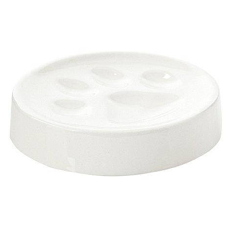 Ben de Lisi Home - White paw soap dish