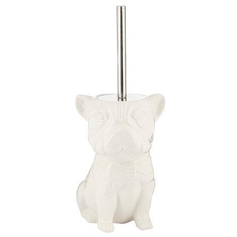 Ben de Lisi Home - White dog toilet brush