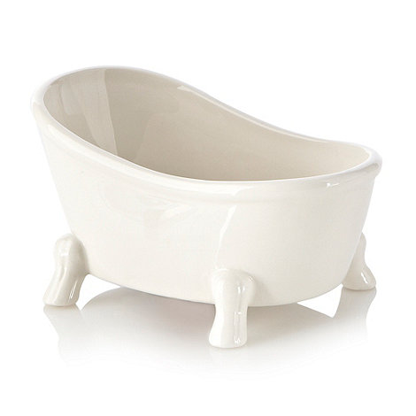 Ben de Lisi Home - Ceramic bathtub soap dish
