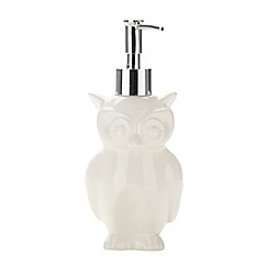 Ben de Lisi Home - Designer owl soap dispenser