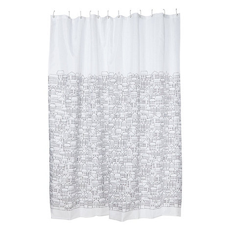 Ben de Lisi Home - Designer white house shower curtain