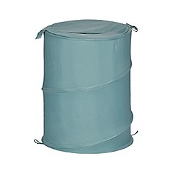 Home Collection Basics - Aqua pop-up laundry basket
