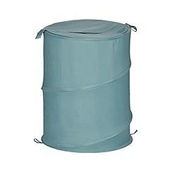 Home Collection Basics - Aqua pop-up laundry basket