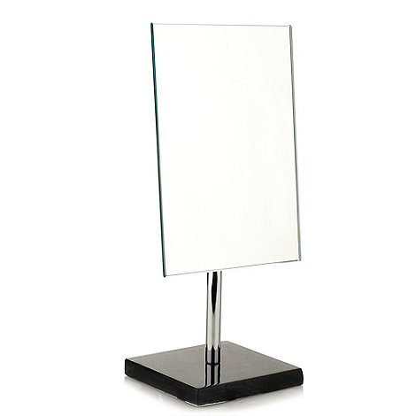 Home Collection Basics - Black resin based mirror