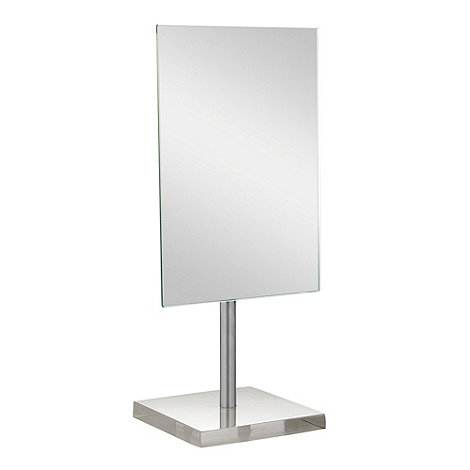 Home Collection Basics - White square mirror