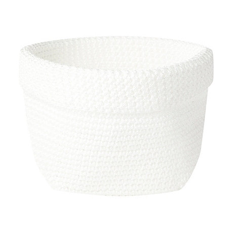 Home Collection Basics - Small white woven storage basket