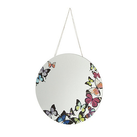 Butterfly Home by Matthew Williamson - Designer butterfly border wall mirror