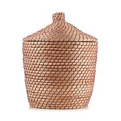 Butterfly Home by Matthew Williamson - Designer wrap seagrass storage basket