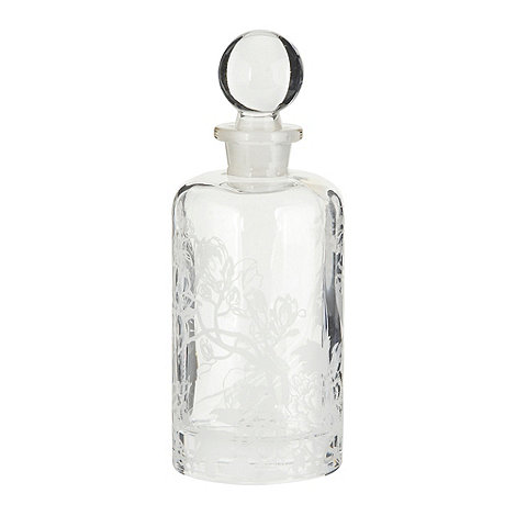 Butterfly Home by Matthew Williamson - Large peacock patterned perfume bottle