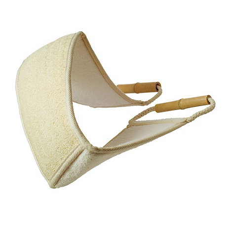 Hydrea London - Bamboo and loofah back strap
