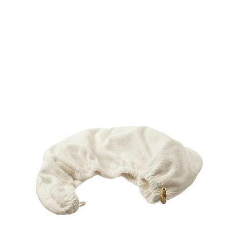 Hydrea London - Cream bamboo and cotton head wrap