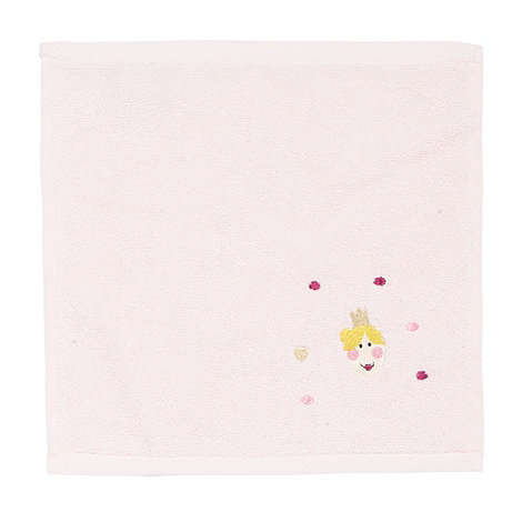 Harlequin - Pink embroidered princess cotton towels