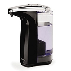Simplehuman - Black compact sensor soap dispenser