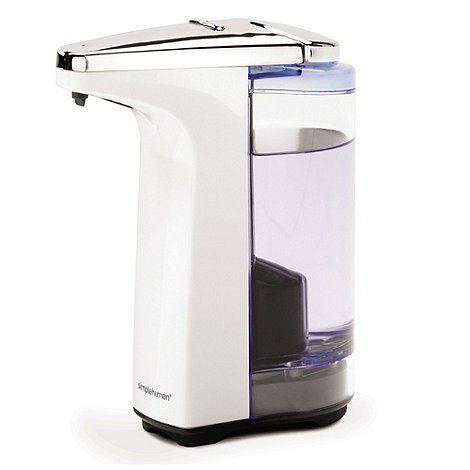 Simplehuman - White compact sensor soap dispenser