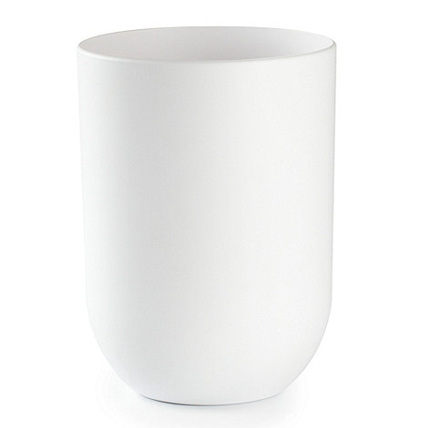 Umbra - White 'Touch' waste bin