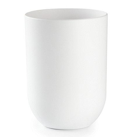 Umbra - White +Touch+ waste bin