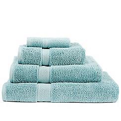 Christy - Aqua 'Premium' cotton towels