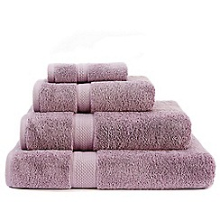 Christy - Mauve 'Premium' cotton towels