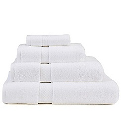 Christy - White 'Premium' cotton towels
