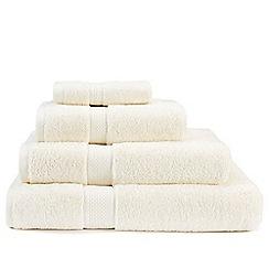Christy - Cream 'Premium' cotton towels