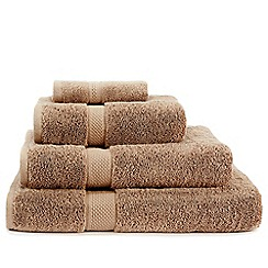 Christy - Taupe 'Premium' cotton towels