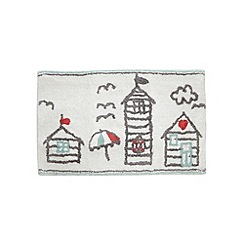 Home Collection - White beach hut mat