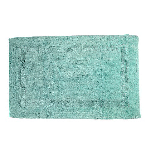 Home Collection - Aqua luxury reversible bath mat