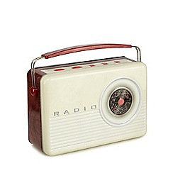 Debenhams - Radio Biscuit Tin - 450g