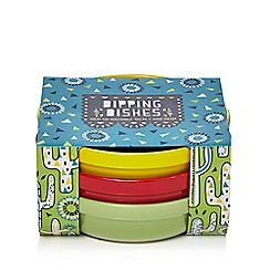 Debenhams - Set Of Three Multi-Coloured Dipping Bowls