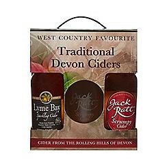 Lyme Bay - Devon Jack Ratt Cider Gift Pack - 116g