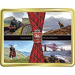 Stewarts - Scottish Collection - Shortbread Tin - 400g