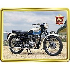 Stewarts - Triumph Motorcycle - Shortbread Tin - 400g