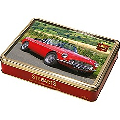 Stewarts - Red MG Sport scar - Shortbread Tin - 400g