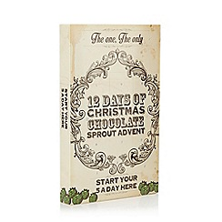 Debenhams - 12 Days Of Christmas' Chocolate Sprout Advent - 144g