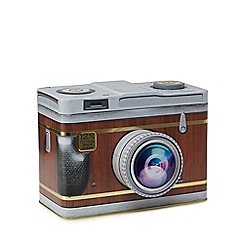 Novelty Bisc Tins - Camera