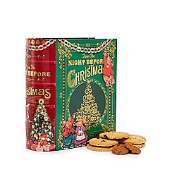 Novelty Bisc Tins - 'Night before Christmas' biscuit assortment - 400g