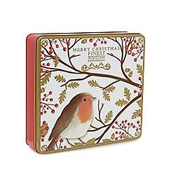 Debenhams - Merry Christmas' Robin Tin Shortbread Selection - 450g