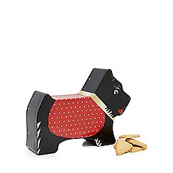 Pets - Scotty dog shaped biscuit tin with shortbread - 300g