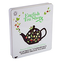 English Tea Shop - Organic Teas in Tin 72 - 132g