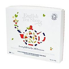 English Tea Shop - Organic Teas 96 Tray - 168g