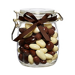 Debenhams - Chocolate Covered Nuts in a Clip Top Jar - 540g