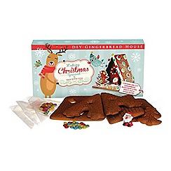 Gingerbread - Large Diy Gingerbread House - 650g