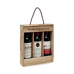 Debenhams - Three Bottle Red Wine Selection 1.125l