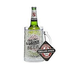 Debenhams - Becks Beer And Chiller Stein Set - 1.88kg