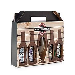 Debenhams - Craft Beer selection with stemmed beer glass - 2.68kg