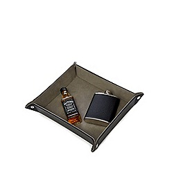 Jack Daniels - 6oz Hipflask & 5cl Tennessee Whiskey Miniature