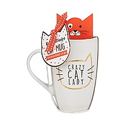 Debenhams - Crazy Cat Lady Mug - 390g