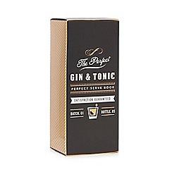 Debenhams - The Perfect Gin & Tonic' Gin And Glass Set - 50ml