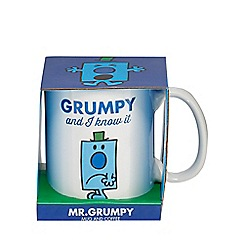 STOCKING FILLERS - Mr. Grumpy mug and coffee set