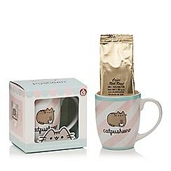 STOCKING FILLERS - Catpusheeno mug with coffee set